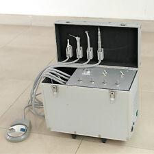 Dental Portable Turbine Unit Suction Work Air Compressor 3-Way Syringe 2H US
