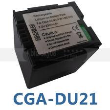 New Battery Pack for Panasonic CGA-DU21 CGA-DU21A/1B CGR-DU06 CGR-DU07 CGA-DU07