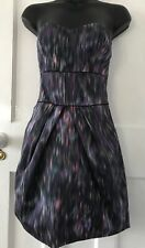 Jane Norman Dress Size 12 Strapless Prom/Evening In Purple New With Tags