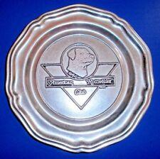 American Rottweiler Club ARC Dog Plate Wilton Armetale