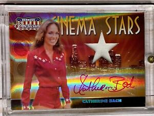 2007 Donruss Americana Cinema Stars HOLO MATERIAL AUTO CS-17 CATHERINE BACH /25