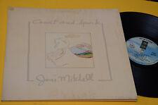 JONI MITCHELL LP COURT AND SPARK ORIG ITALY 1973 MINT UNPLAYED MAI SUONATO GATEF