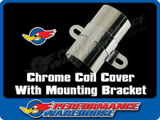 CHROME COIL COVER WITH CHROME MOUNTING BRACKET
