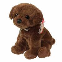 TY Beanie Baby - DIGGIDY the Brown Dog (6 inch) - MWMTs Stuffed Animal Toy