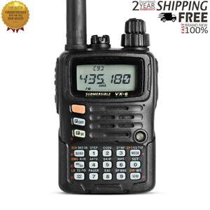 VX-6R Dual Band Transceiver UHF VHF Radio IPX7 Mobile Walkie Talkie For YAESU