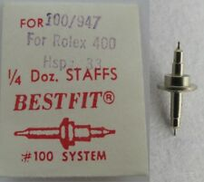 Rolex 7 3/4 Watch Movement 400 hspg. 33 ... staff balance 723