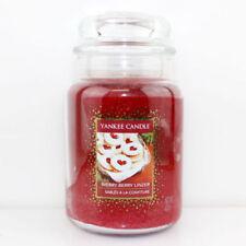 Deko-Glas -/Dosenkerzen mit Vanille für Weihnachten