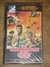 VHS RARE  -  LES COMMANDOS DE LA MORT  -  JOHNNY WILSON