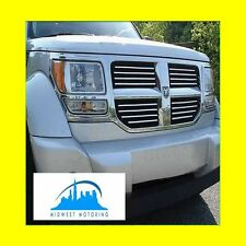 2007-2011 DODGE NITRO CHROME TRIM FOR GRILL GRILLE 5YR WARRANTY