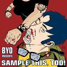 BYO Presents SAMPLE THIS, TOO! CD MINT RARE Rancid Nofx
