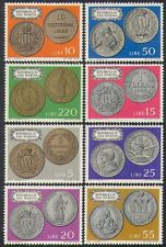San Marino 1972 Coins/Money/Currency/Commerce/Business/History 8v set (n38555)