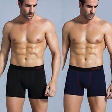 Mens Underwear Boxer Briefs Pack Male Underpants Soft Underware Pouch Boxershort