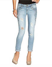 Cotton Regular Size Slim, Skinny GUESS Jeans for Women