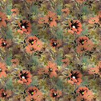 1 Yd Nähen Crafting Floral Cotton Quilting Fabric   dekorative 44''breit