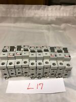 LOT OF 10 Eaton Cutler Hammer Breakers 6 X WMS1B40 3 X WMS1D20 1 X WMS2C15