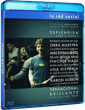 LA RED SOCIAL (THE SOCIAL NETWORK) BLURAY NUEVO SIN ABRIR