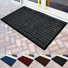 Small Non-Slip Water Absorbent Doormats Indoor Outdoor Entrance Rubber Mat Rugs