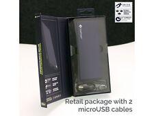Casepower 5700 mAh batería caso con clicktogo Cable Micro USB-Azul
