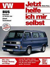 VW BUS T3 TRANSPORTER Jetzt helfe ich mir selbst Reparaturbuch Handbuch Buch NEU