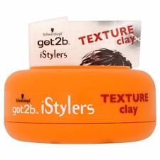 ** SCHWARZKOPF GOT2B ISTYLERS TEXTURE CLAY 75ml ** NEW