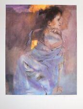 Christine Comyn Odalisque en vert 7549 Poster Kunstdruck Bild 80x60cm