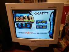 """Sony Multiscan 100SX CPD-100SX Trinitron Color Display CRT 14"""" Monitor - Working"""
