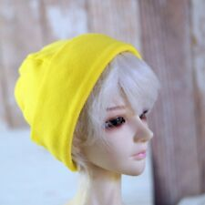 "Yellow Beanie Hat Knit For 1/3 24"" 60cm  Tall BJD SD DK AOD LUTS DIM VOLKS Doll"