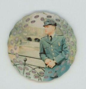 Elvis Presley Porcelain Christmas Ornament - US Army