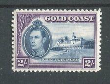 Gold Coast KGVI 1938-43 2s blue & violet SG130 MNH