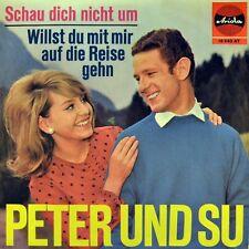 """7"""" PETER HINNEN UND SU SUSANNE REGIN Schau dich nicht um ARIOLA 1965 NEUWERTIG!"""