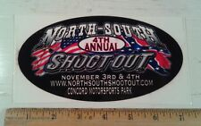North - South Shootout 4th Annual Decal Sticker Concord NC Motorsports Park