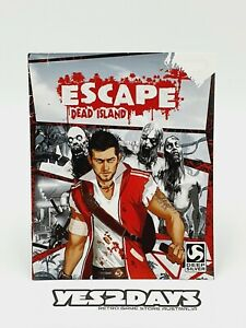 ESCAPE DEAD ISLAND PlayStation 3  ps3 Game Manual | Excellent Condition