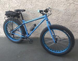 Surly Ice Cream Truck Fat Bike Medium ICT-18 Used Fat Bike - Jack Frost Blue
