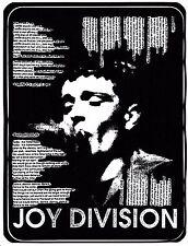 JOY Division Vinile Adesivo Ian Curtis Shes ha perso il controllo inglese rock