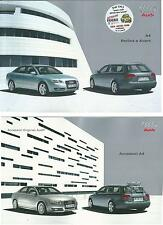 2006 AUDI A4 Berlina/Avant brochure it 1.6-1.8T-2.0-3.2- 1.9/2.7/3.0 TDI quatto