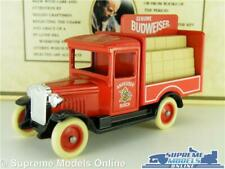 CHEVROLET TRUCK LORRY VAN MODEL BUDWEISER BEER 1:64 APPROX LLEDO DAYS GONE K8