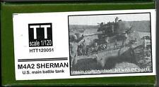 Hauler Models 1/120 American M4A2 SHERMAN TANK Resin & Photo Etch Model