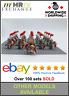 21 Minifigures Medieval Knights Red Lion Castle Kindoms Toys Block Custom UK