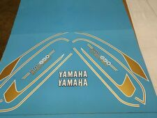 YAMAHA XS650 1975  DECAL GRAPHIC SET (#Y23)