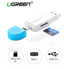 Ugreen Micro USB OTG Micro SD Memory Card Reader for Android Tablets Samsung LG