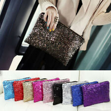 Retro Women Lady Luxury Sequins Clutch Bag Sparkling Clutch Evening Bag Handbag