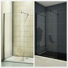 Duschwand Walk in Dusche Duschtrennwand 8mm/10mm Nano Glas Klarglas H 200cm