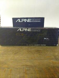 Alpine 8007 Car Alarm w/Siren | Alpine 8302 ex. Cable kit-- Y1