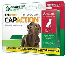Oral Flea Tick for Dogs Medication Medicine Pills Flea Treatment Large Dog 6ct