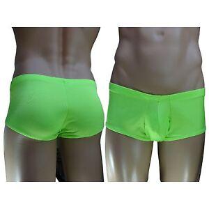 G3631 Hot Mens Boxer Briefs Trunks Underwear Contour Pouch Swimwear