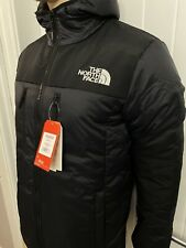 North Face Himalayan Black Light Synthetic Hooded Jacket Mens Size Large £99