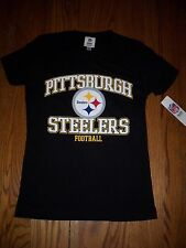 WOMEN'S NFL PITTSBURGH STEELERS T-SHIRT MEDIUM NEW WITH TAG