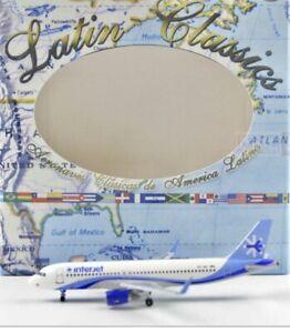 Aeroclassics Interjet Airbus A320 XA-JMA 1:400 Scale