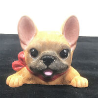 RED Sable Fawn French Bulldog Bull Frenchie Pet Dog Wall Light Switch Toy Figure