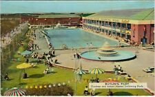 Outdoor & Indoor Heated Swimming Pool, Butlin's Holiday Camp, FILEY, Yorkshire